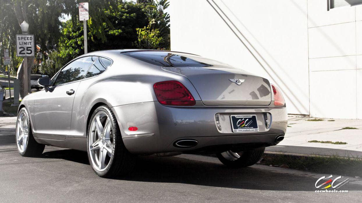 2015 cars CEC Tuning wheels Bentley Continental gt wallpaper