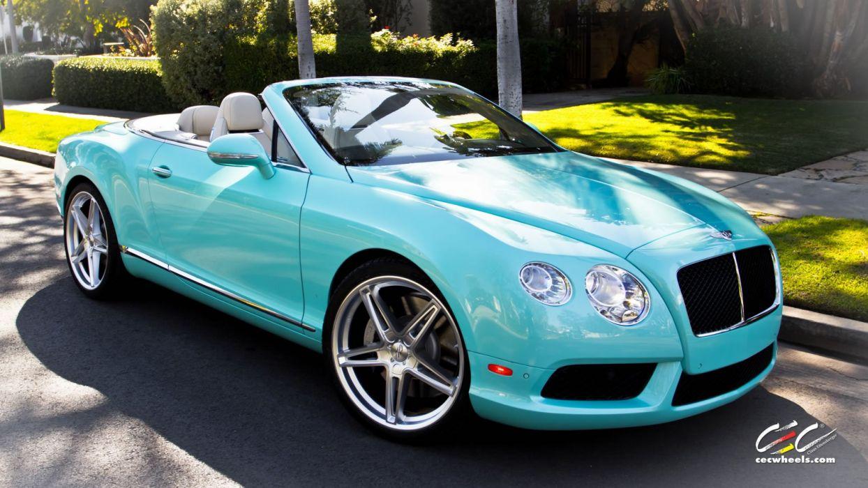 2015 cars CEC Tuning wheels Bentley Continental gt convertible wallpaper