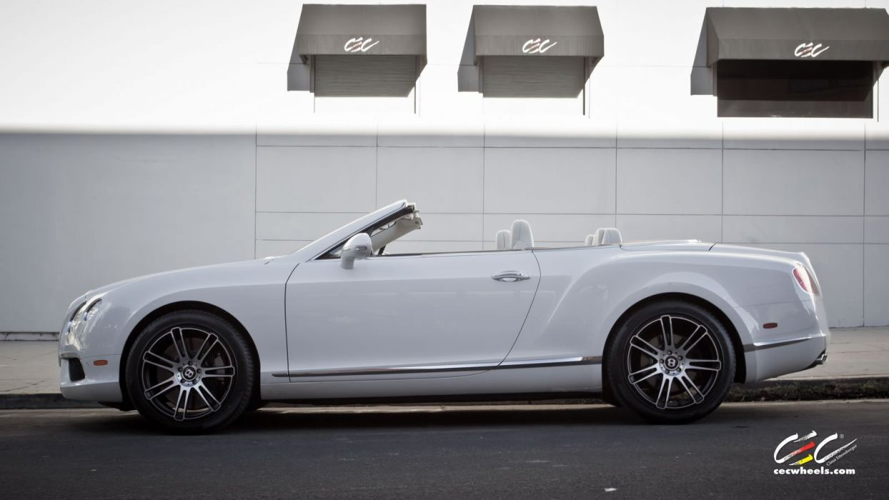 2015 cars CEC Tuning wheels Bentley Continental v8 gt convertible wallpaper