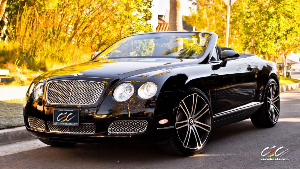 2015 cars CEC Tuning wheels Bentley Continental gtc convertible wallpaper