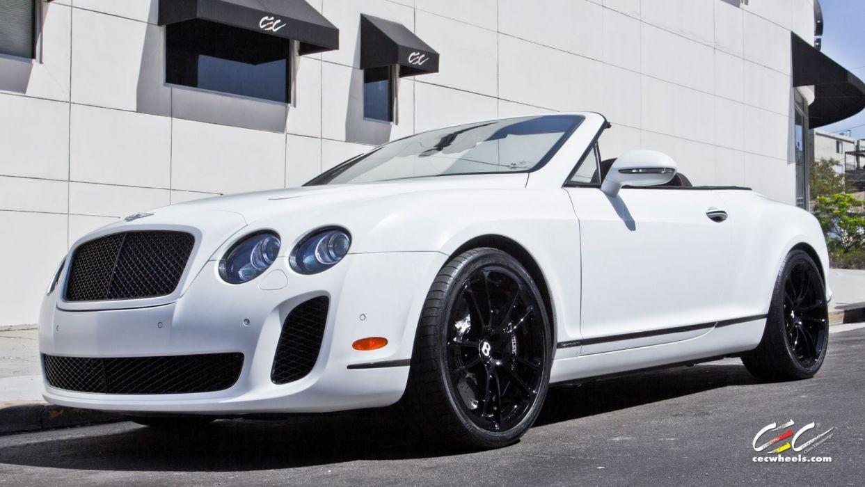 2015 cars CEC Tuning wheels Bentley Supersports gtc ISR convertible wallpaper