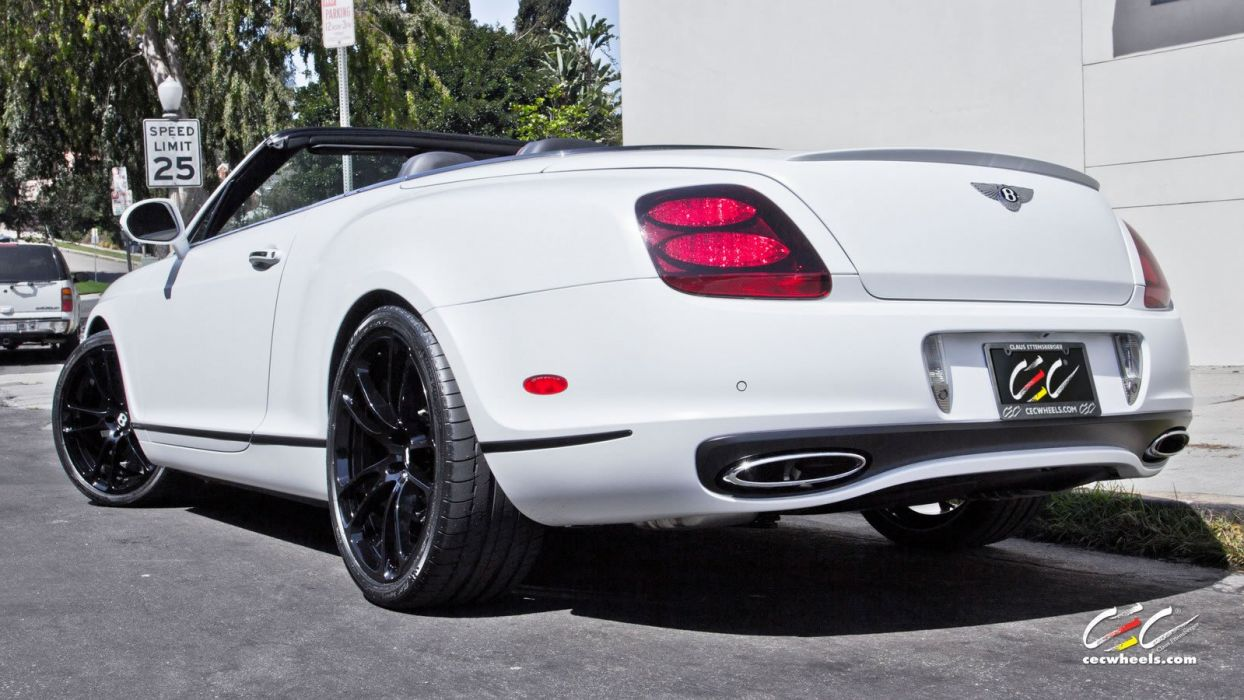 2015 cars CEC Tuning wheels Bentley Supersports gtc ISR convertible wallpaper