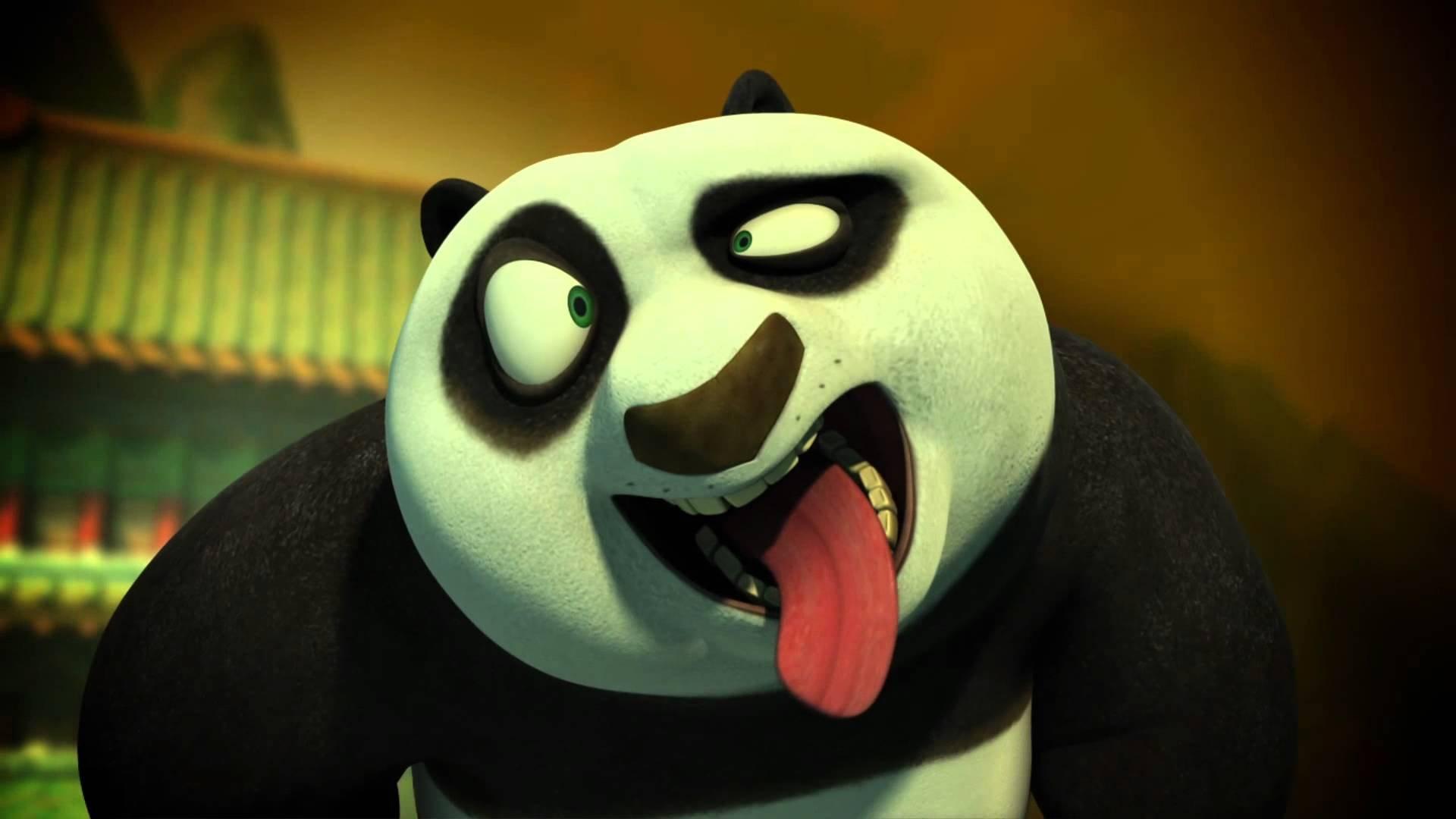 Kung Fu Panda Baby Po Crying