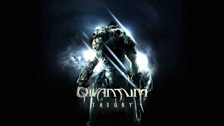 QUANTUM THEORY action shooter fantasy sci-fi 1qtheory apocalyptic warrior poster wallpaper