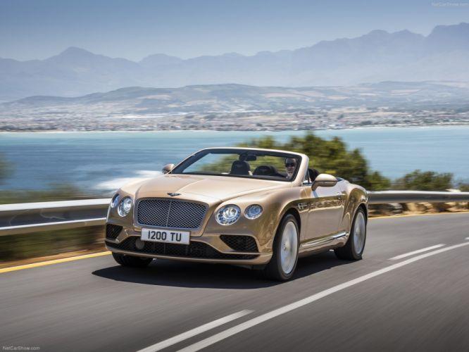 Bentley Continental G T Convertible cars 2016 wallpaper