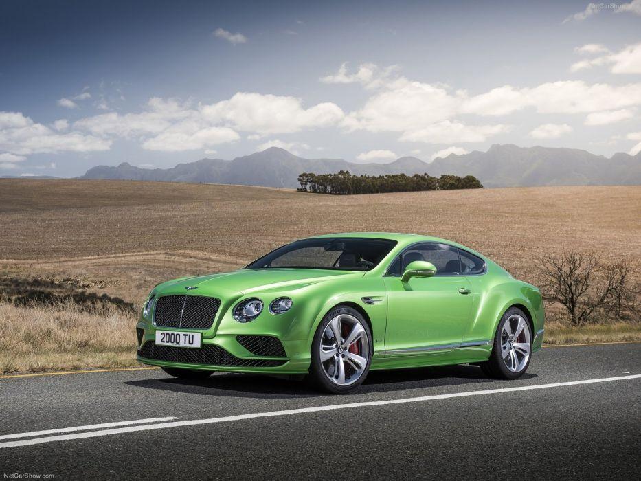 Bentley Continental G T speed cars 2016 wallpaper