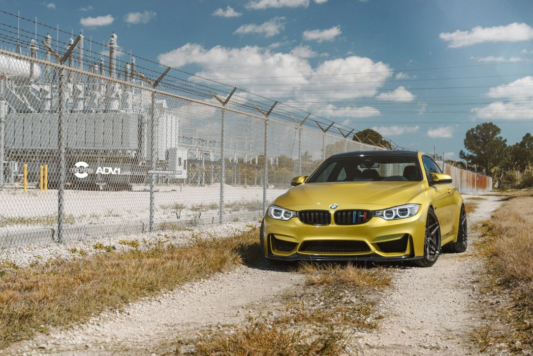 2015 ADV1 BMW m 4 coupe wheels tuning cars wallpaper