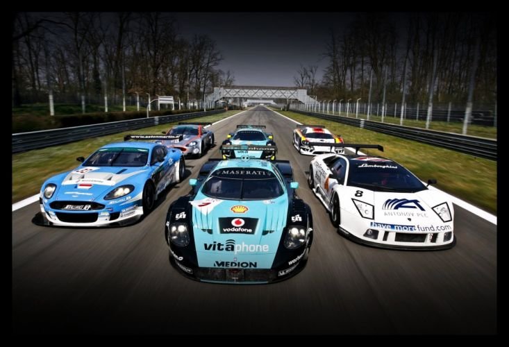 GT cars wallpaper