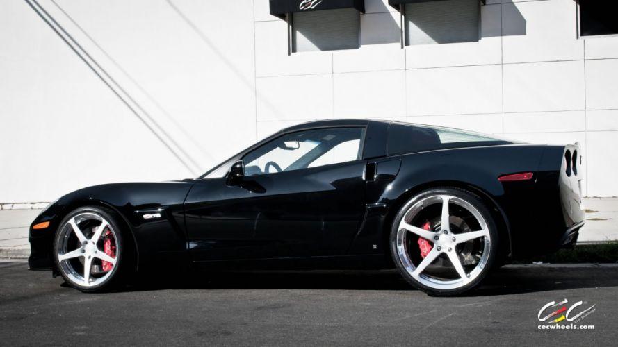 2015 cars CEC Tuning wheels Chevrolet Corvette Z06 wallpaper