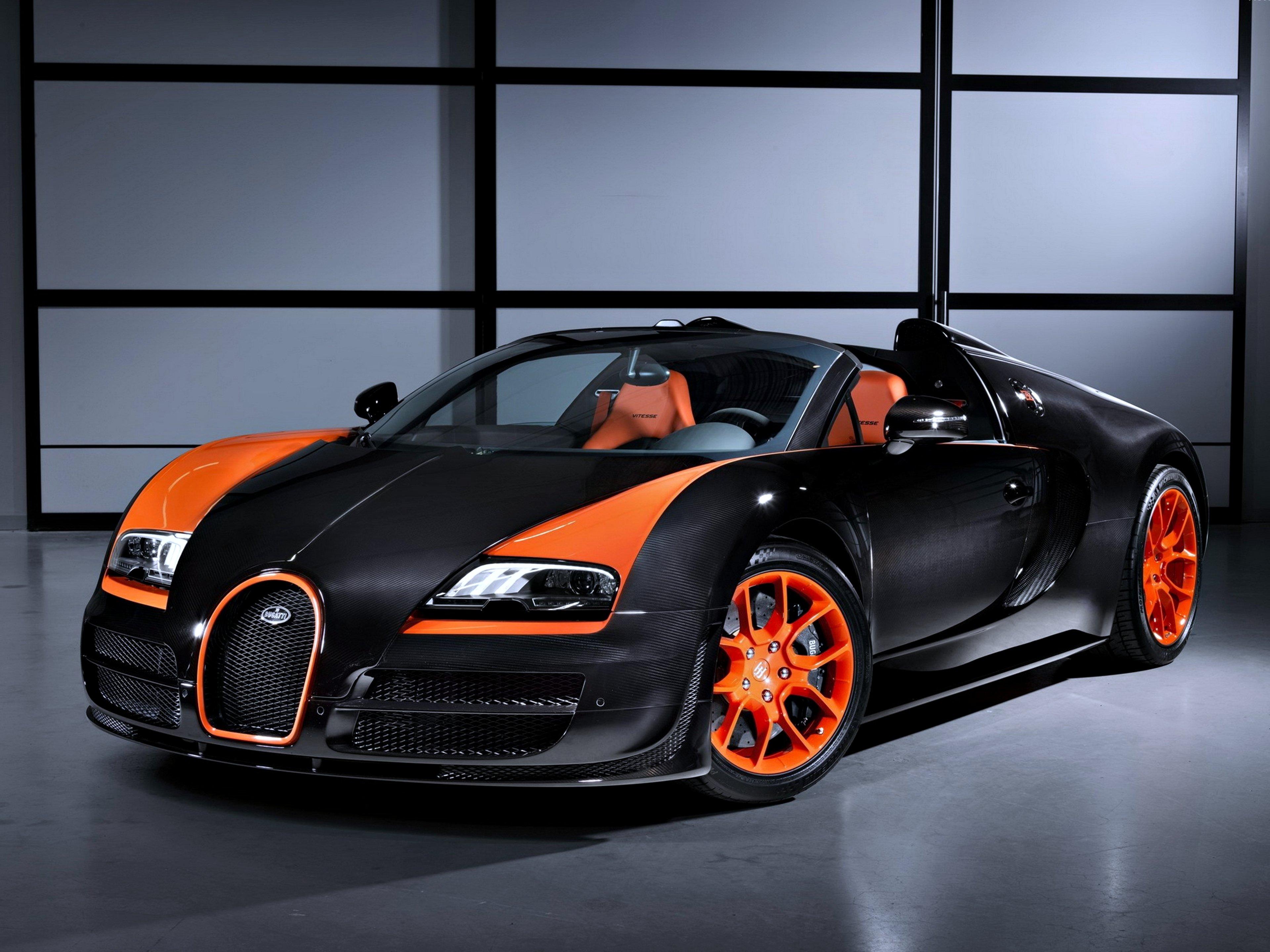 bugatti veyron grand sport roadster speed orange black cars super race motors wrc wallpaper. Black Bedroom Furniture Sets. Home Design Ideas