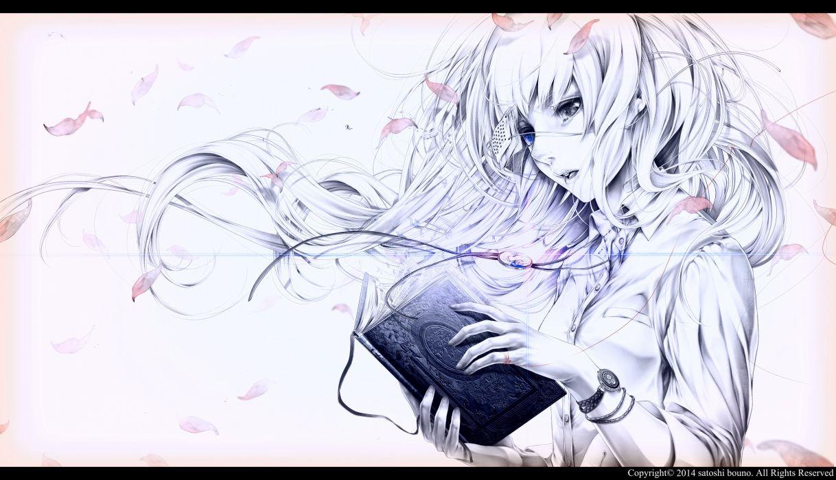 BUONO SATOCHI japanese fantasy anime 1bsat gothic original girl artwork girls mood portrait wallpaper