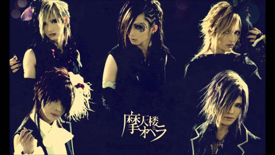 MATENROU OPERA japanese visual kei metal heavy symphonic alternative 1mopera progressive power wallpaper