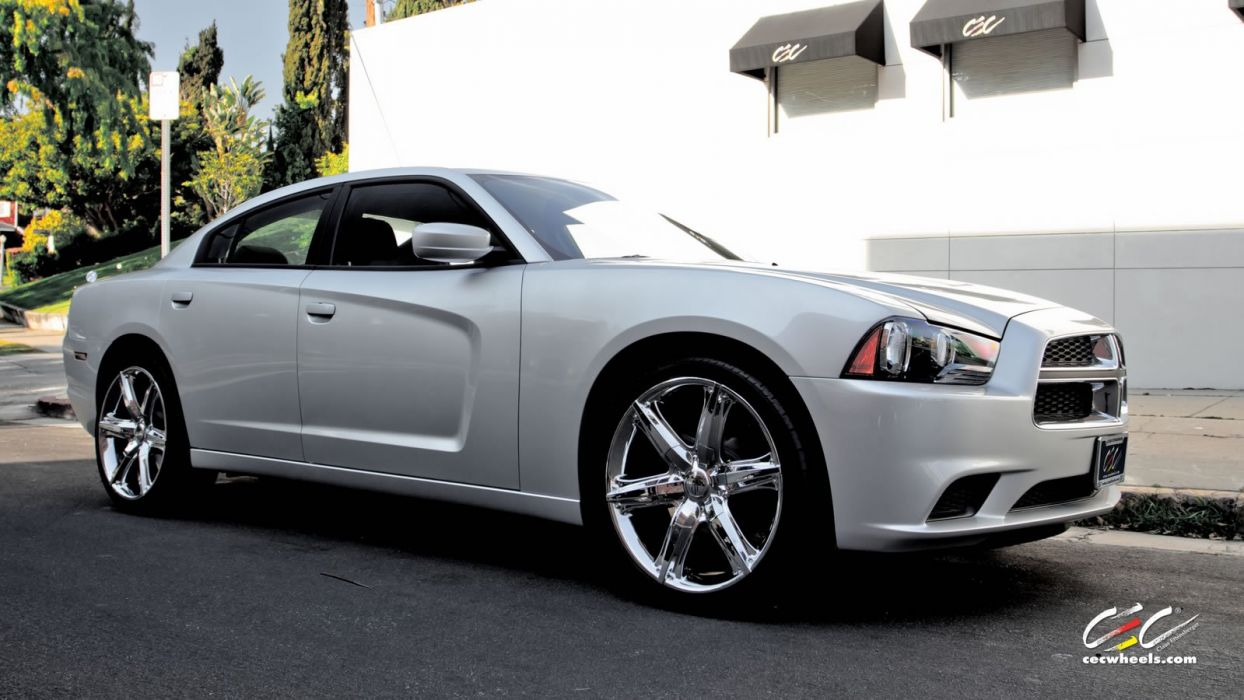 2015 cars CEC Tuning wheels Dodge charger wallpaper