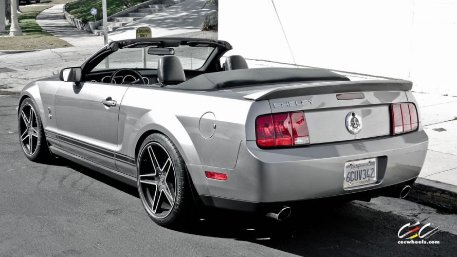 2015 cars CEC Tuning wheels Ford Shelby GT500 coonvertible wallpaper