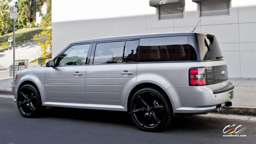 2015 cars CEC Tuning wheels Ford flex suv wallpaper