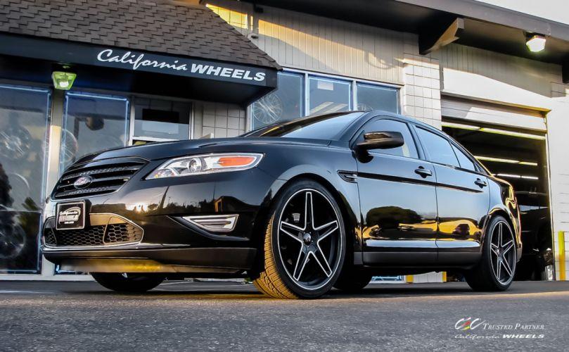 2015 cars CEC Tuning wheels Ford Ford Taurus SHO wallpaper