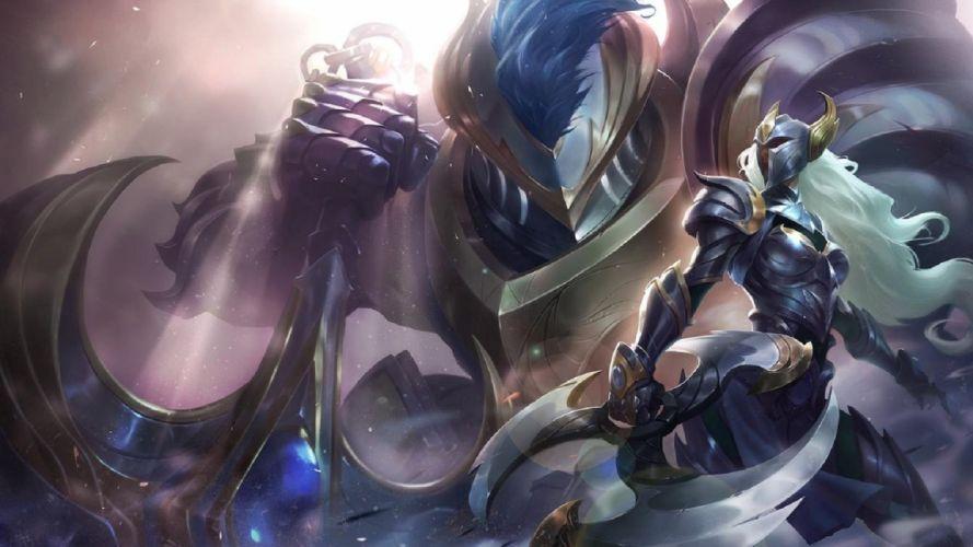 League of Legends Sivir and Nautilus Warden skins wallpaper