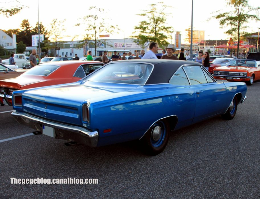 1969 classic muscle plymouth road runner wallpaper