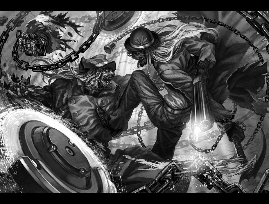 NINJA SLAYER Ninjasureiya sci-fi cyberpunk fighting animation anime 1nslayer warrior wallpaper