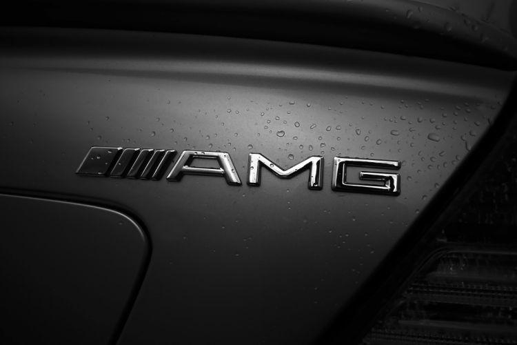 AMG In The Rain wallpaper