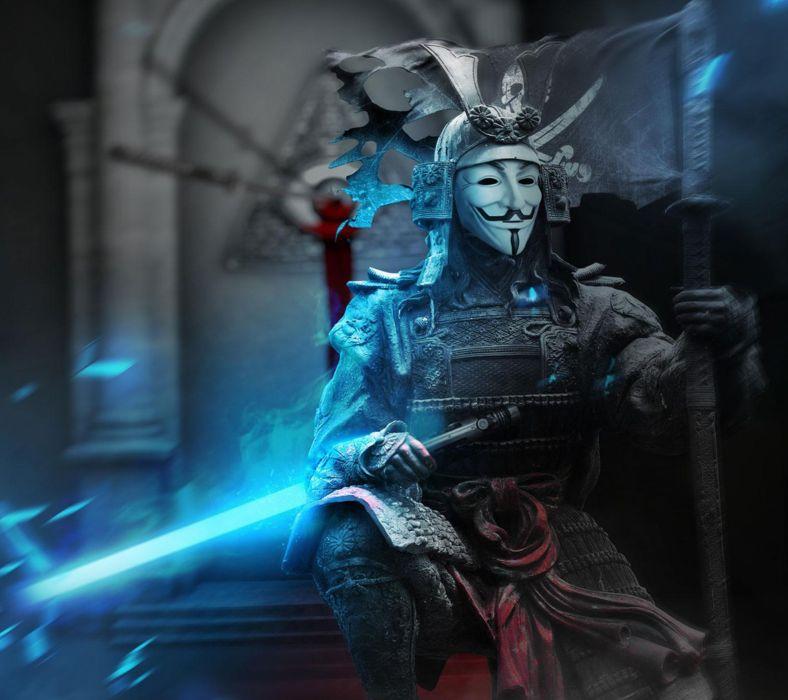 Anonymous Samurai-wallpaper-10404259 Wallpaper