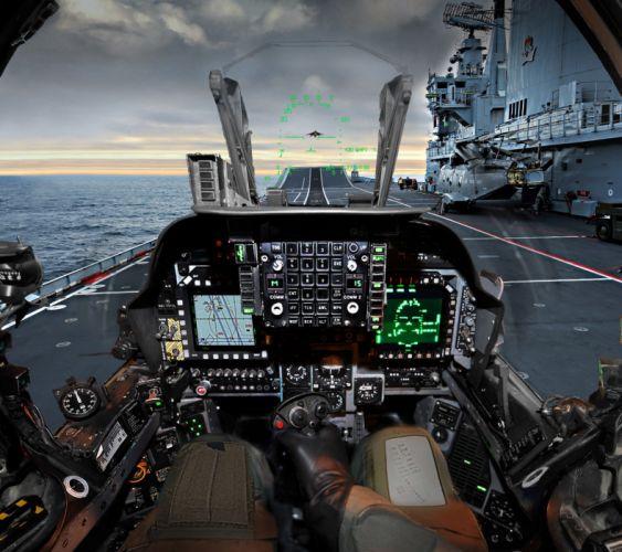 Harrier Cockpit-wallpaper-10502447 wallpaper