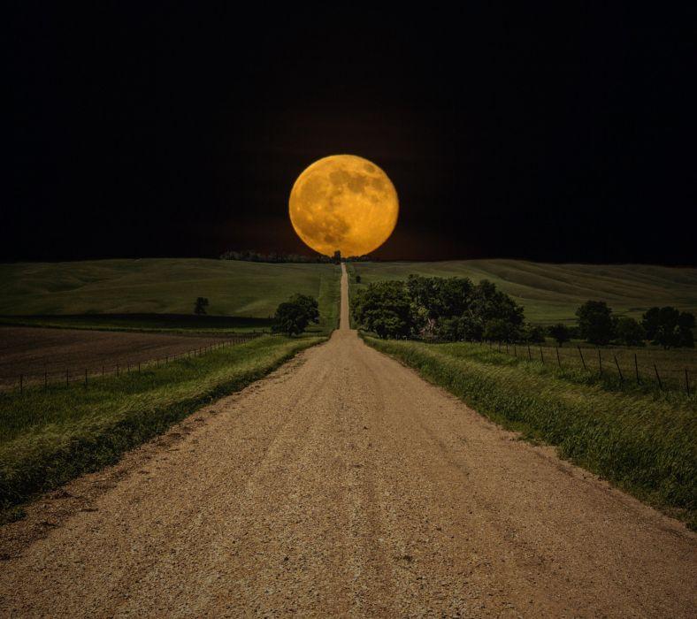 Moon Path-wallpaper-10362445 wallpaper