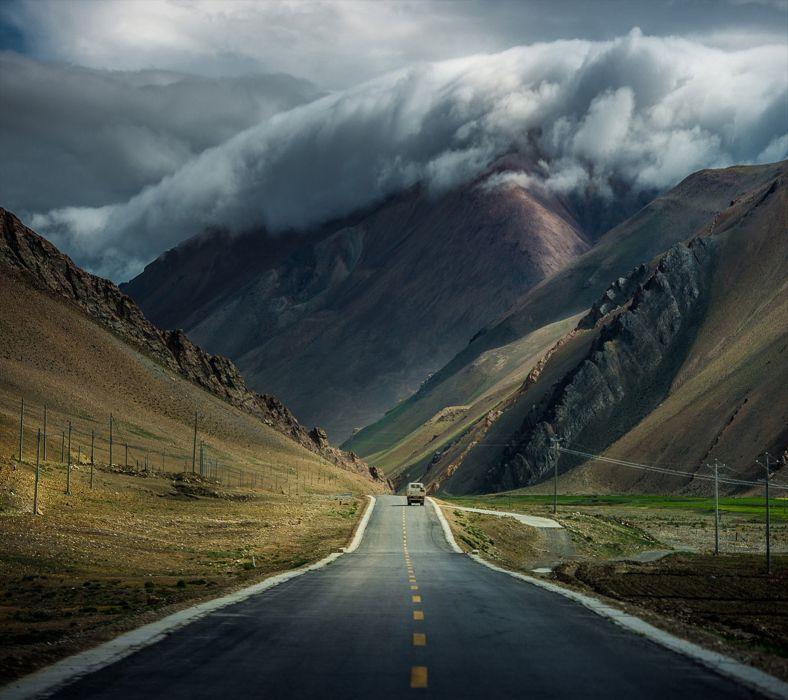Mountain Path-wallpaper-10365727 wallpaper