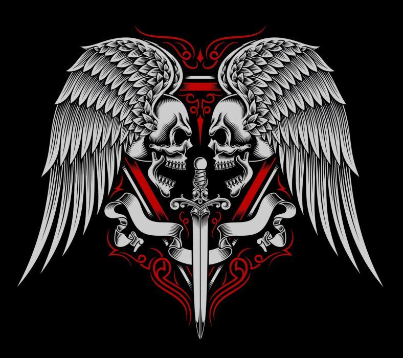 Skull Tattoo-wallpaper-10394911 wallpaper