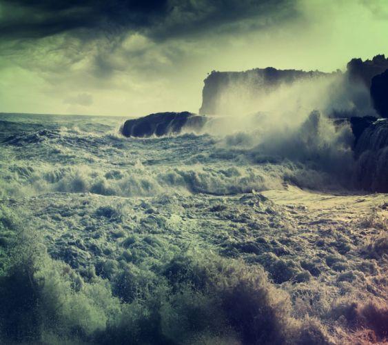 Stormy Sea-wallpaper-10516792 wallpaper