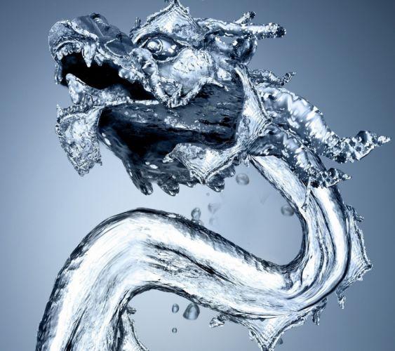 Water Dragon-wallpaper-10492581 wallpaper