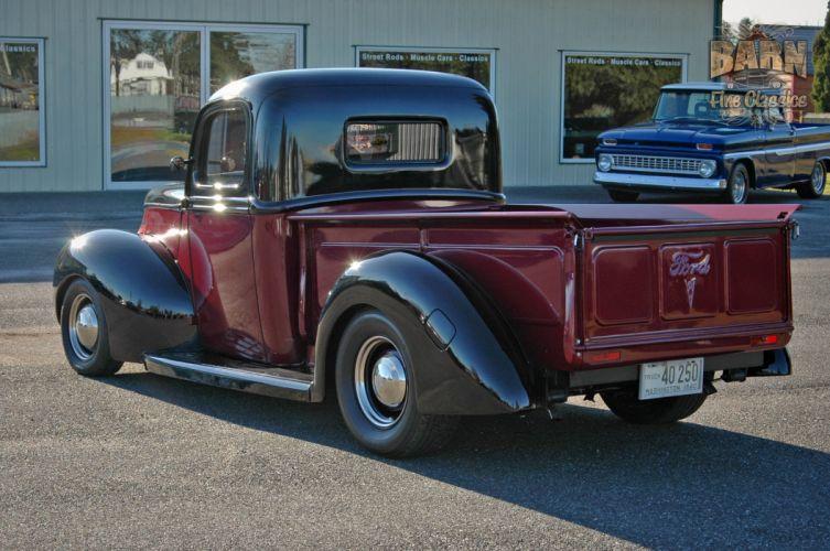 1940 Ford Deluxe Pickup Hot Rod Rods Hotrod Custom USA 2048x1488-03 wallpaper
