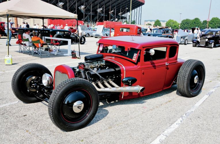1931 Ford ModelA Coupe Hot Rod Hotrod USA 2048x1340 wallpaper