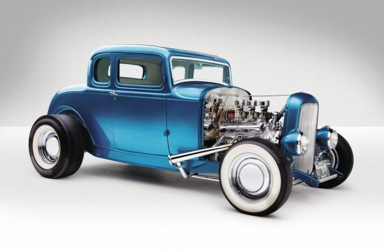 1932 Ford Five Window Coupe Hot Rod ROds Hotrod USA 2048x1340-07 wallpaper