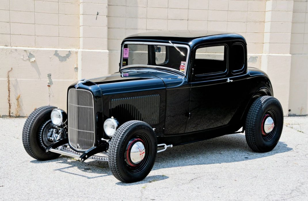 1932 Ford Five Window Coupe Hot Rod ROds Hotrod USA 2048x1340-06 wallpaper