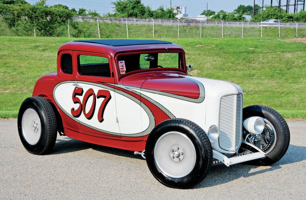 1932 Ford Five Window Coupe Hot Rod ROds Hotrod USA 2048x1340-08 wallpaper
