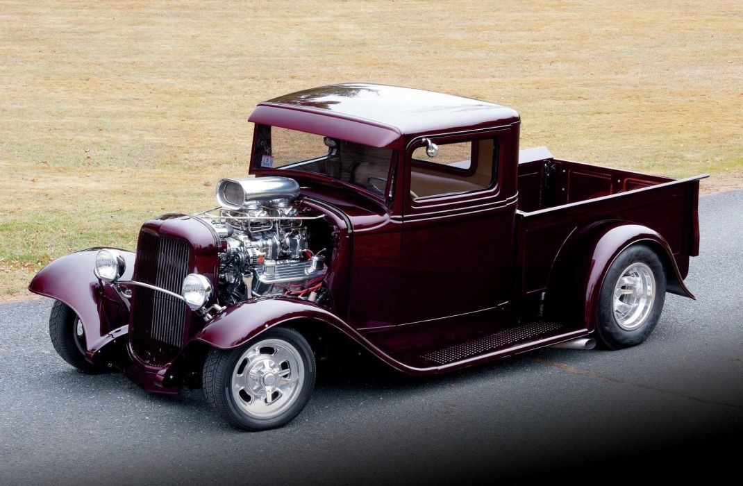 1932 Ford Pickup Hot Rod ROds Hotrod USA 2048x1340-01 wallpaper