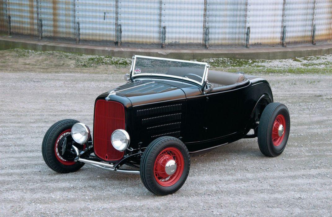 1932 Ford Roadster Hot Rod Hotrod USA 2048x1360-02 wallpaper