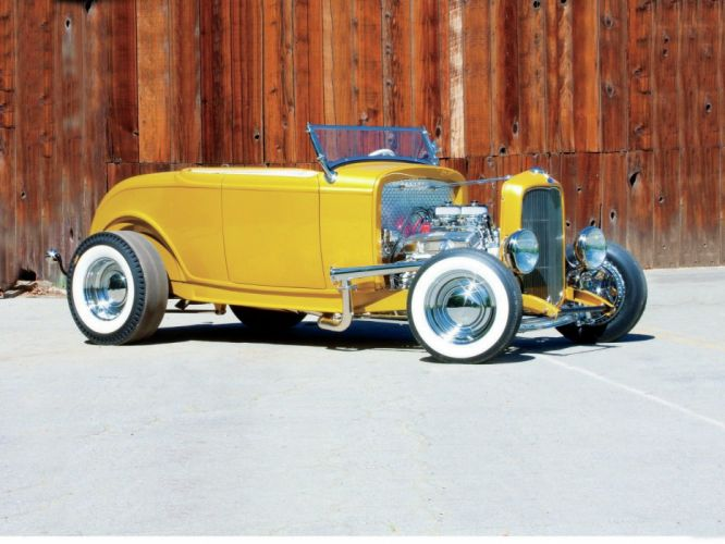 1932 Ford Roadster Hot Rod Hotrod USA 1600x1200-06 wallpaper