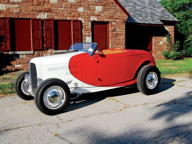 1932 Ford Roadster Hot Rod Hotrod USA 1600x1200-09 wallpaper