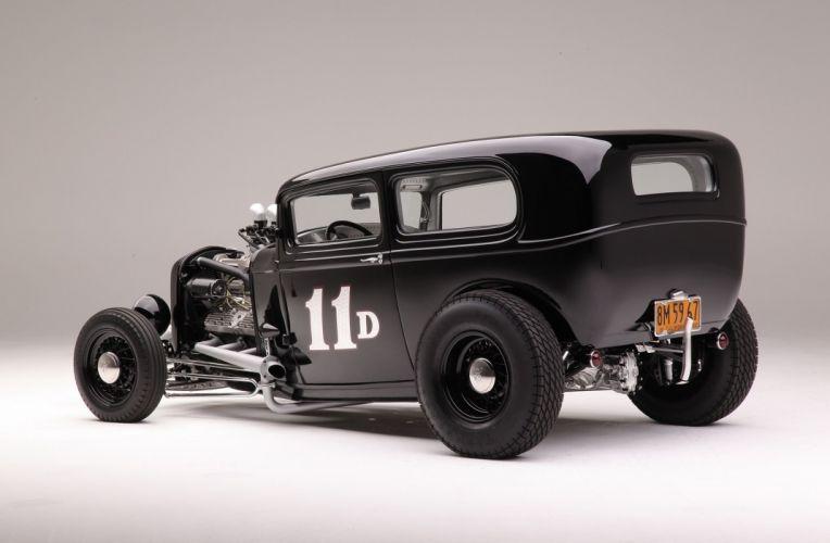 1932 Ford Tudor Sedan Hot Rod ROds Hotrod USA 2048x1340-04 wallpaper