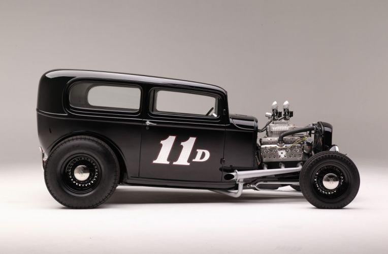 1932 Ford Tudor Sedan Hot Rod ROds Hotrod USA 2048x1340-05 wallpaper
