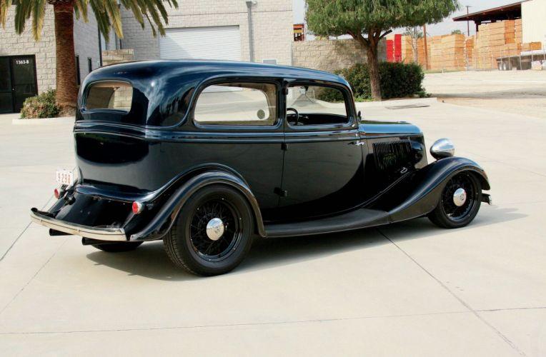 1933 Ford Tudor Sedan Hot Rod Rods Hotrod USA 2048x1340-02 wallpaper