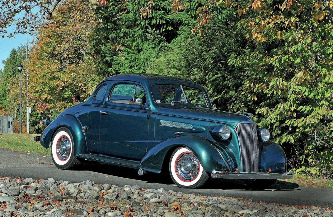 1937 Chevrolet Chevy Coupe Hot Rod Rods Custom USA 2048x1340-01 wallpaper