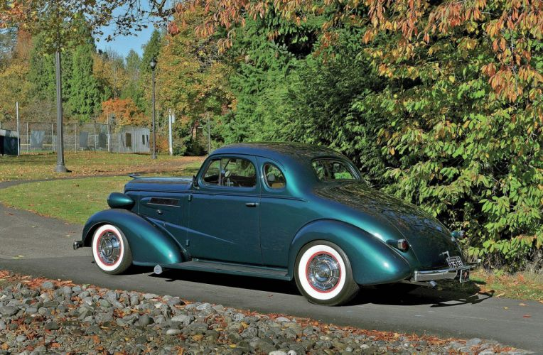 1937 Chevrolet Chevy Coupe Hot Rod Rods Custom USA 2048x1340-02 wallpaper