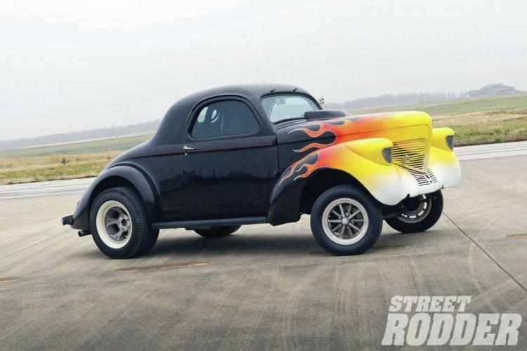 1939 Willys Drag Hot Rod Hotrod Gasser USA 1500x1000-03 wallpaper