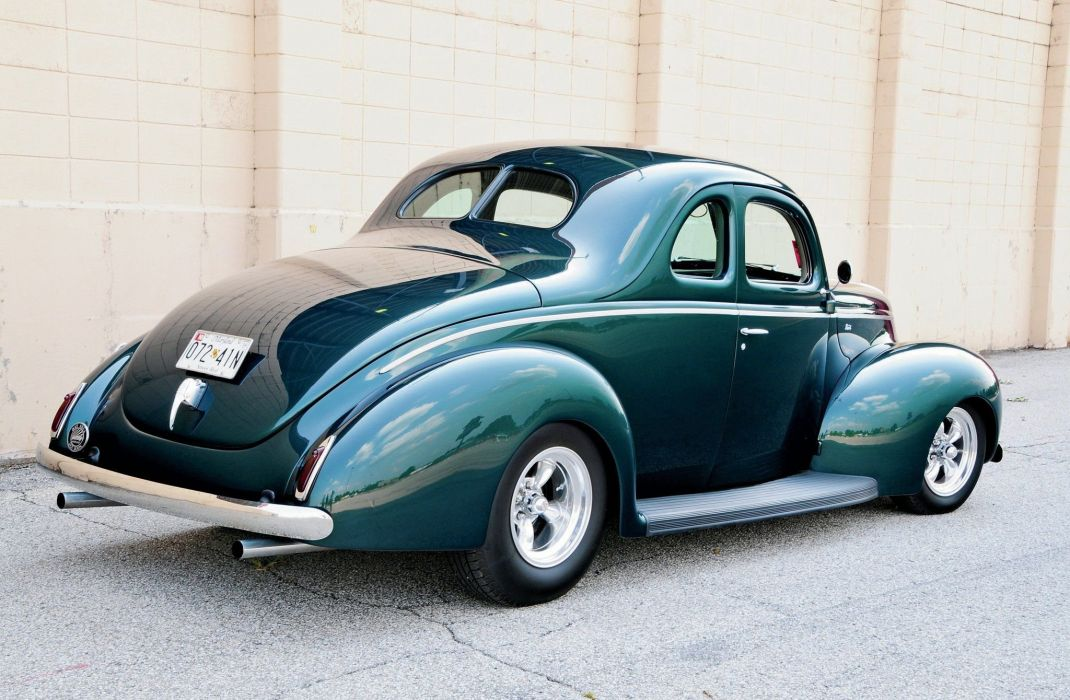 1940 Ford Coupe Hot Rod Rods Hotrod Custom USA 2048x1340-04 wallpaper