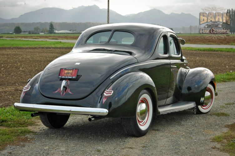 1940 Ford Deluxe Coupe Hot Rod Rods Hotrod Custom USA 1504x1000-02 wallpaper