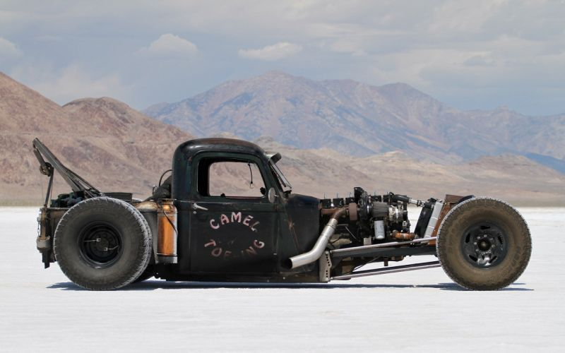 1940 Ford Deluxe Pickup Hot Rod Rods Hotrod Rat USA 1920x1200-01 wallpaper