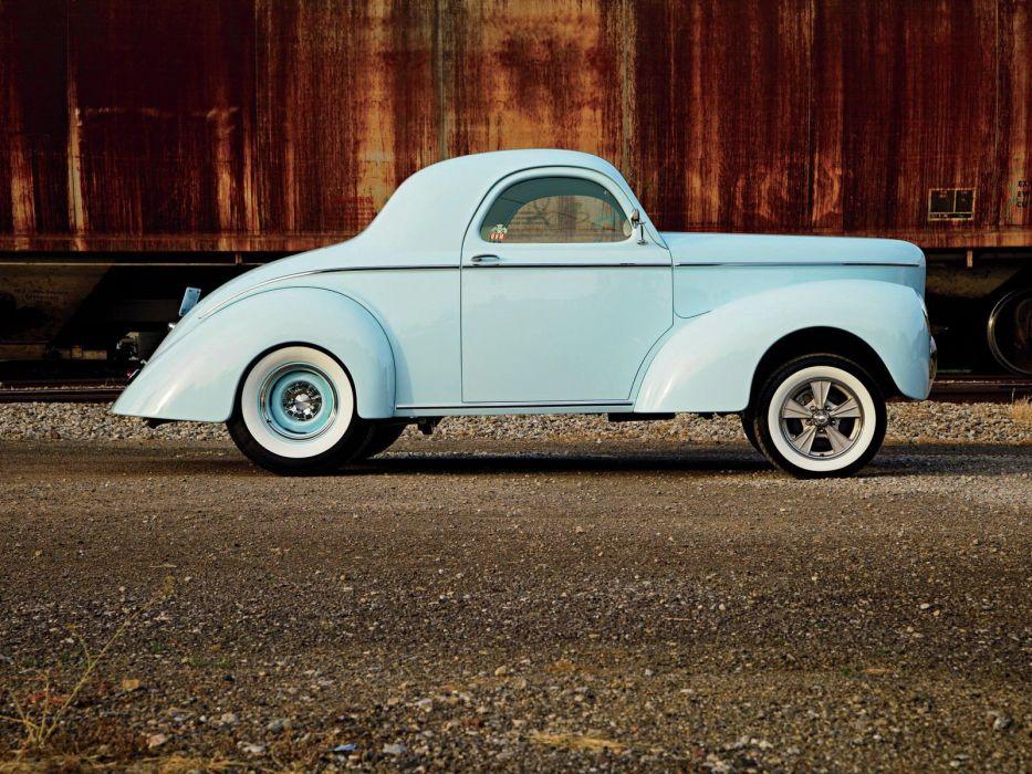 1941 Willys Drag Hot Rod Hotrod Gasser USA 1600x1200-05 wallpaper